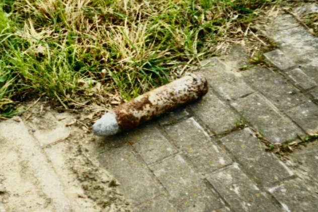 Unexploded Shell