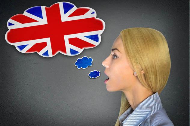 English learning woman