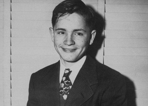 Charles Manson Age 13