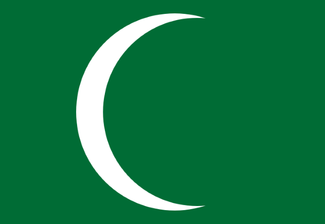 First Saudi Flag