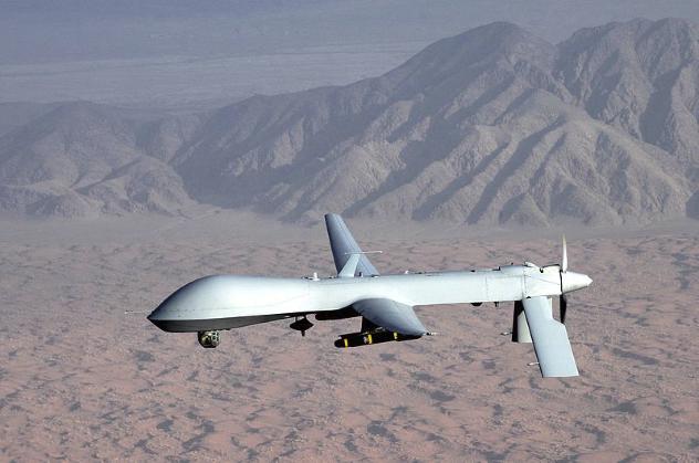 Predator UAV Flight