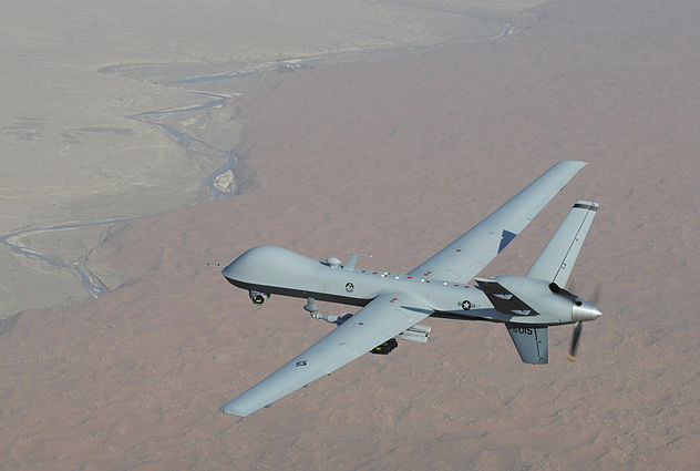 Reaper UAV Flight