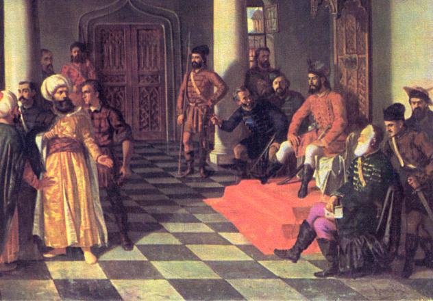 Vlad on Throne