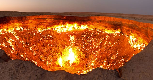 10 entrances to hell that you can visit   listverse