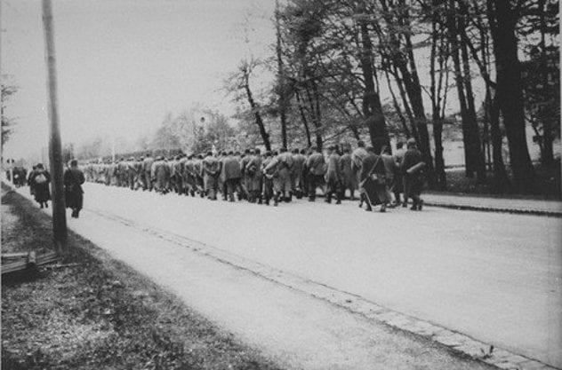 Auschwitz Death March