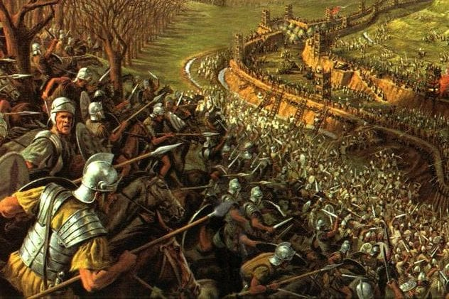 Celts vs Romans 4