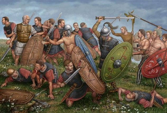 Celts vs Romans