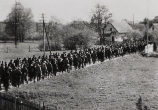 Death March to Dachau