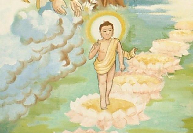 Newborn Buddha