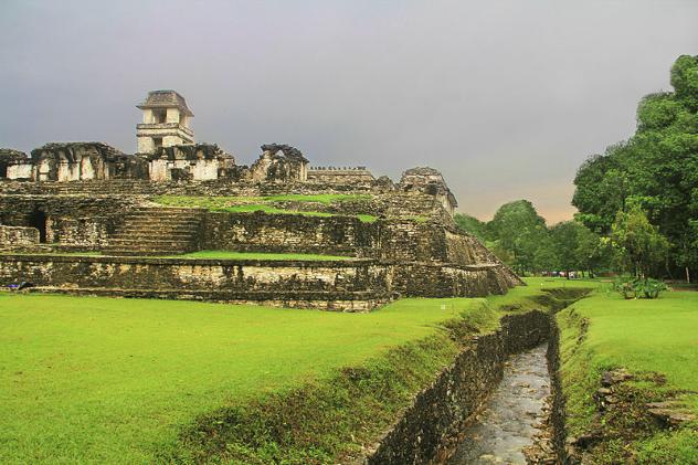 Palenque Aquaduct