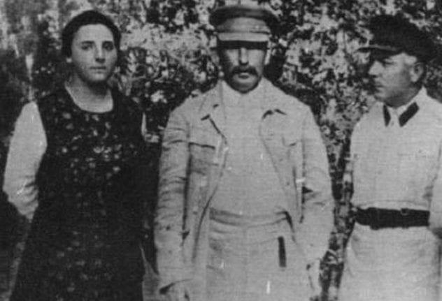 Stalin and Nadezhda