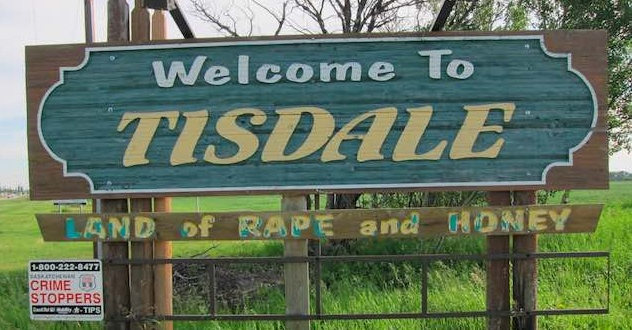 Tisdale Sign