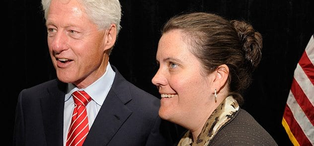 President Clinton/ McMahon Rally
