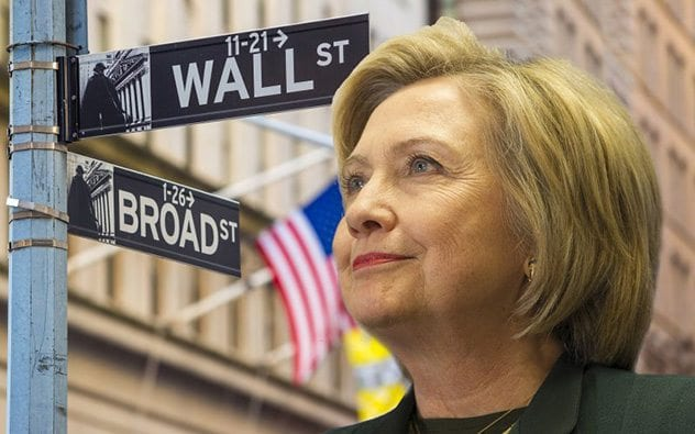 clinton-wallstreet