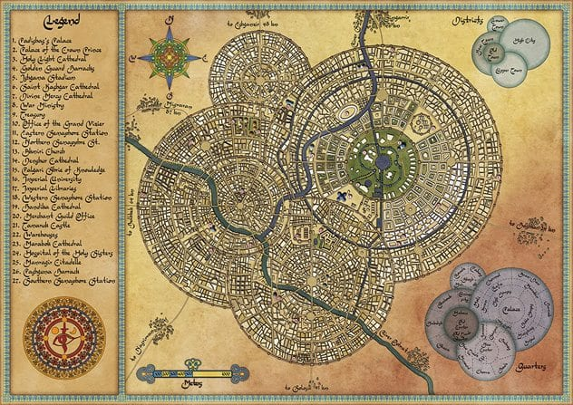 Beautiful Map Of The World.10 Of The Most Beautiful Maps Ever Created Listverse
