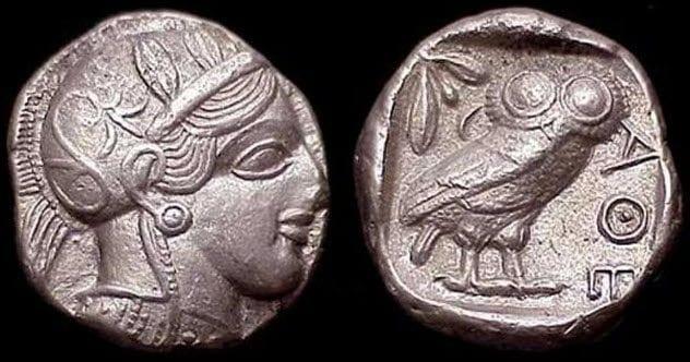 3-athenian-silver-coins