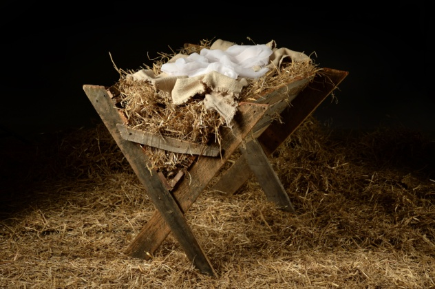 theres no mention of a stable in the bibles stories of the first christmas a stable is assumed because were told that they laid him in a manger