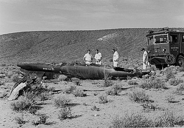 x-15-crash-site