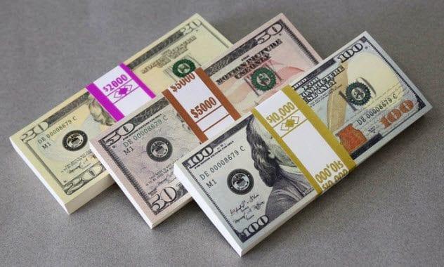 secret service: 4-prop-money