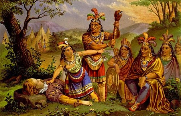 Historical Misconceptions 7-pocahontas-saves-john-smith