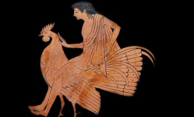 ancient greek life 8c-youth-with-rooster