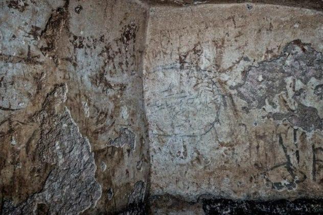 grafiti-Yahudi-kuno