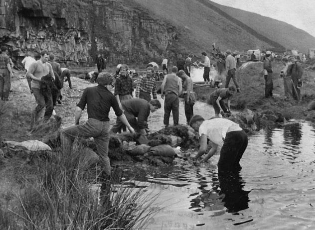 Mossdale Caverns Disaster