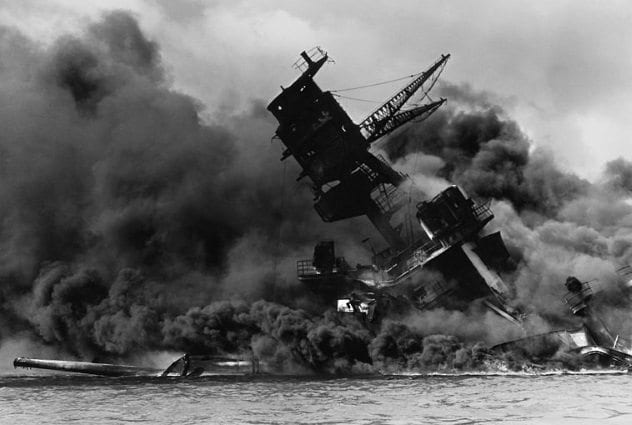 False flag operations uss-arizona-pearl-harbor