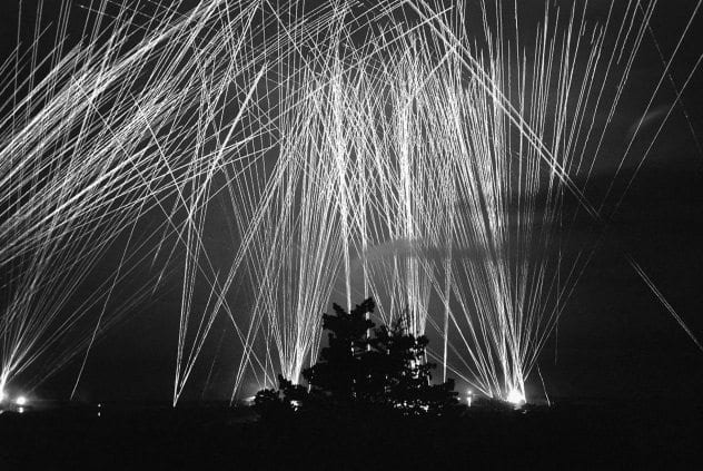Algiers Anti-Aircraft Fire