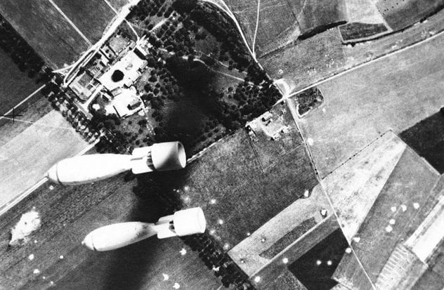 Bombing Abbevile Aerodrome