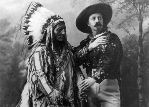 Buffalo Bill and Sitting Bull
