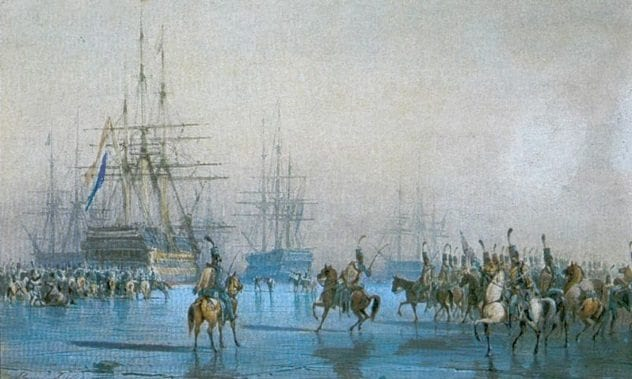Cavalry Ship Capture