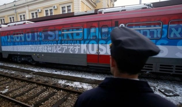 Kosovo Is Serbia Train