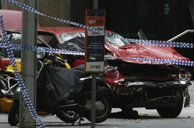 Melbourne Car Attack