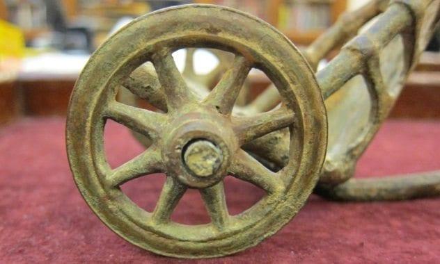 Roman Toy Chariot