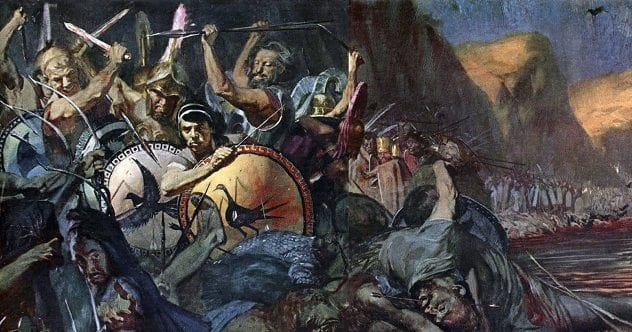 1Stanley Meltzoff - Battle of Thermopylae