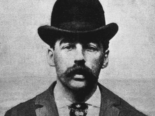 H.H. Holmes Mugshot
