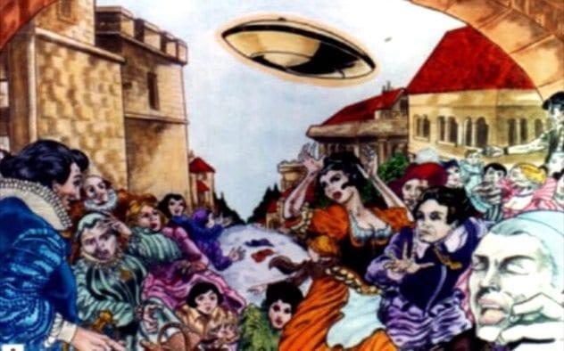 Marseilles UFO