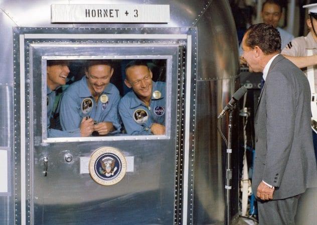 Quarantined Astronauts