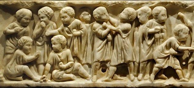 chlidren in ancient rome - photo#13