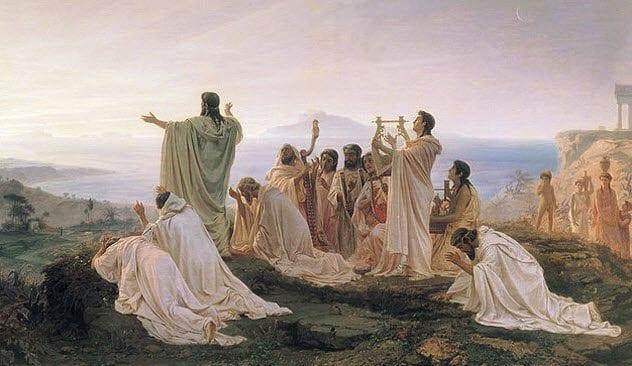 8-pythagoreans-worshiping