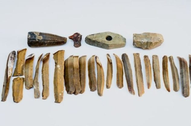 Bulgarian Flint Artifacts