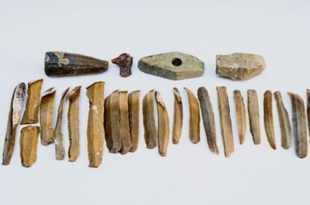 Bulgarian Flint Artifacts