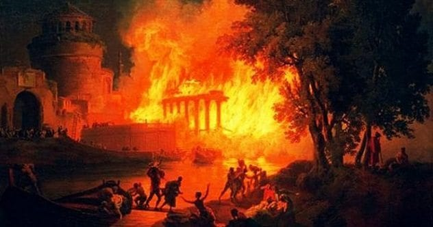 10 completely different views on the great fire of rome