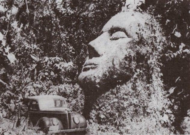 Guatemala Stone Head