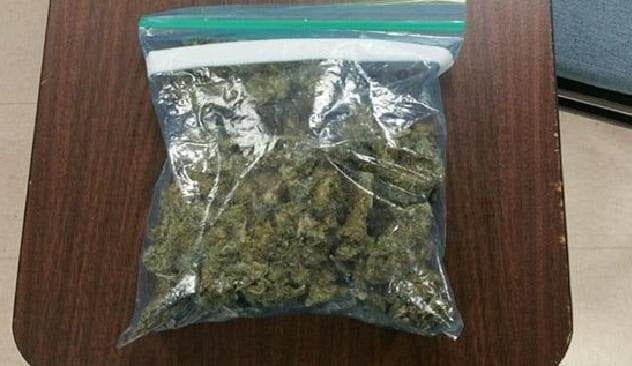 Marijuana Salad