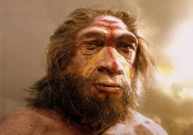 Neanderthal Face Paint