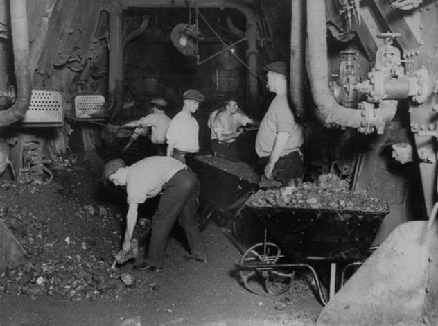 Titanic Coal Bunker