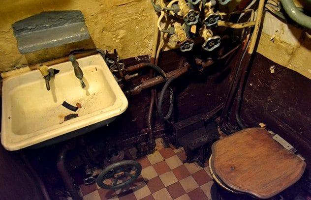 uboat toilet