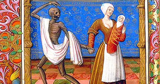 Medieval Black Plague Paintings